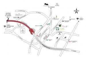peta BTC hotel