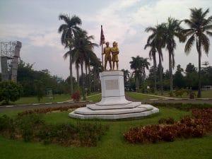 Taman Bunga Widya Mandala Krida Bakti Pramuka Cibubur