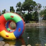 floating donut telaga arwana cibubur