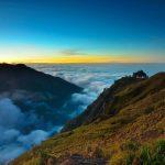 panorama Gunung Rinjani