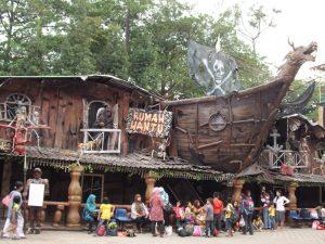 rumah hantu Bandung Carnival Land