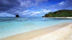 Pantai Kuta Lombok 300x169 10 Tempat Wisata di Lombok yang Wajib Dikunjungi