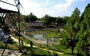 Outbound Tirta Sanita Ciseeng