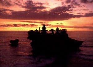 sunset Tanah Lot