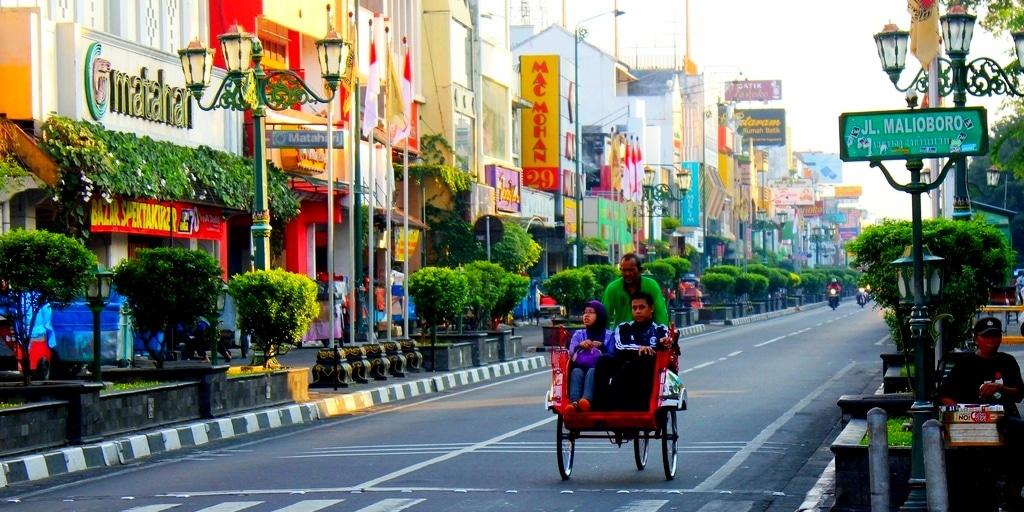Wisata Jogja - Jalan Malioboro - Aneka Tempat Wisata