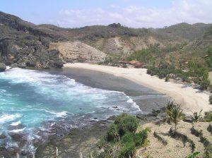 Panorama menkajubkan inilah yang Anda temukan di Pantai Siung