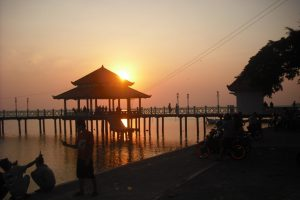sunset Pantai Kartini