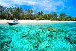Gili Trawangan, Gili Meno dan Gili Air, Lombok