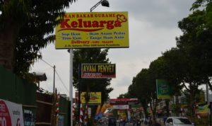 Kawasan Wisata Kuliner Jalan Prof Dr. Suharso