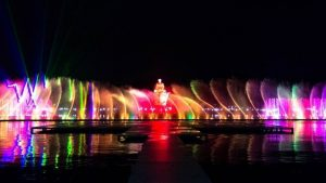 Taman Air Mancur Sri Baduga - Purwakarta