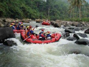 Tempat Wisata Jawa Barat - arung jeram citarik