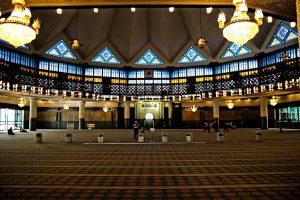 masjid negara tempat wisata di kuala lumpur