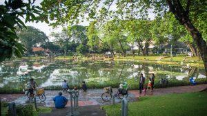 Taman Situ Lembang, Menteng, Jakarta (116lou)