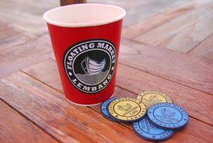koin Floating Market Lembang