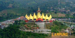 Tempat Wisata di Lampung - Menara Siger