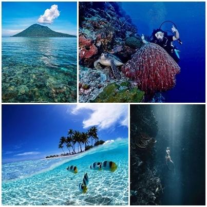 Taman Laut Bunaken (blackpacker_, shoniimu, tuegeh17, melevepelomundo)