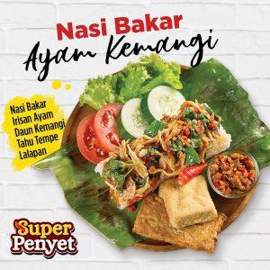 Nasi Bakar Ayam Kemangi (superpenyetresto)