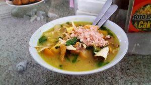 Tempat Wisata Kuliner di Surabaya - Soto Lamongan Cak Har