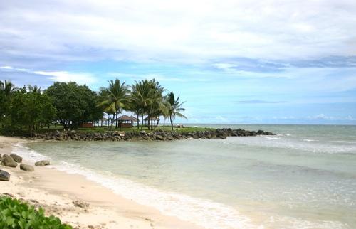 Spot cantik untuk mengabadikan keindahan Pantai Carita