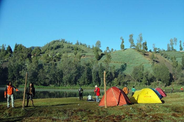 camping ground Taman Nasional Baluran