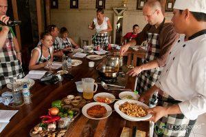 Kelas memasak di Ubud