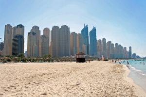 Tempat Wisata di Dubai - Jumeirah Beach