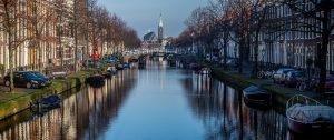 tempat wisata di Belanda - Leiden Canals