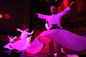 Tarian Sufi (Whirling Dervishes)