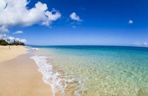 tempat wisata di Hawaii - Pantai di Oahu