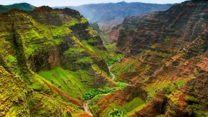 tempat wisata di Hawaii - Waimea Canyon