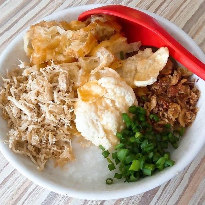 Tips Diet Saat Liburan - Bubur Ayam Agus