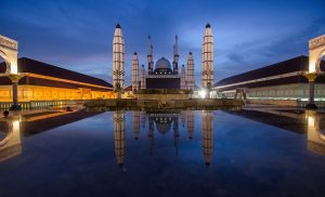Tempat Wisata di Jawa Tengah - Masjid Agung Jawa Tengah - Semarang
