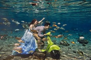 Tempat Wisata di Jawa Tengah - Umbul Ponggok - Klaten