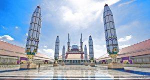 tempat wisata di Semarang - Masjid Agung Jawa Tengah