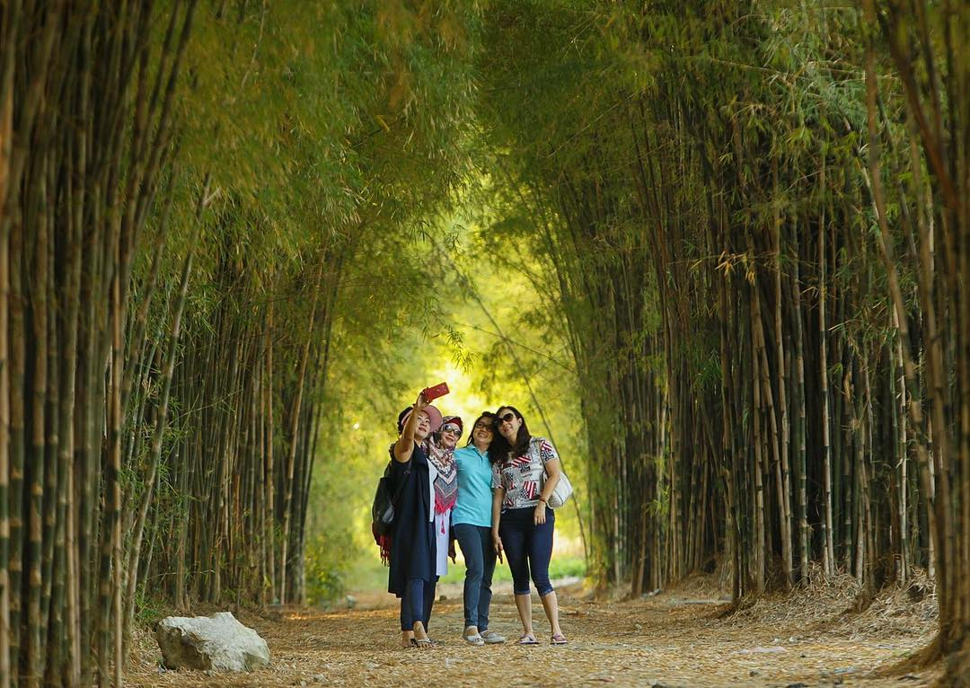 Hutan Bambu dan Taman Harmoni Keputih