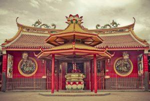 Kelenteng Jin De Yuan. Tempat wisata di jakarta