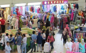 Pasar Tanah Abang. Tempat wisata di jakarta