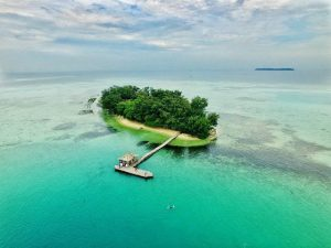 Pulau Semak Daun. tempat wisata di jakarta