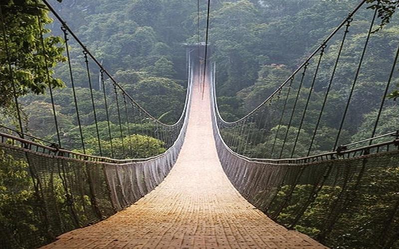 Jembatan Situ Gunung, Sukabumi