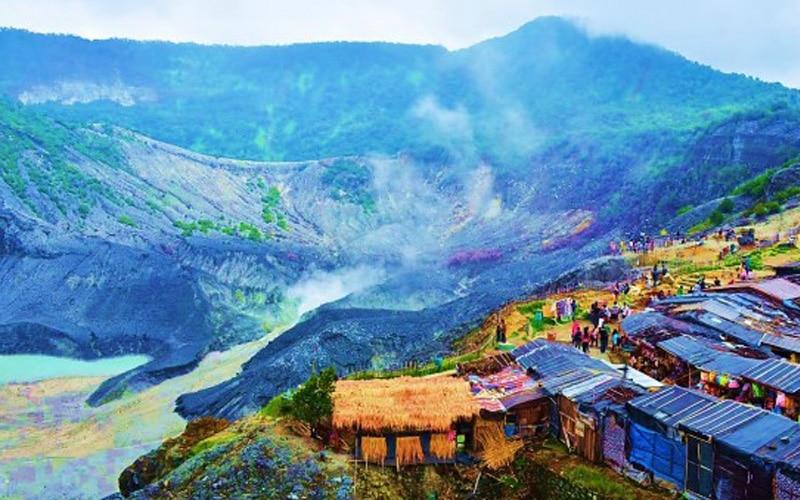 Foto – Foto Tempat Wisata Alam Gunung Tangkuban Perahu