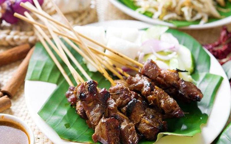 Sate penyu makanan khas Bali