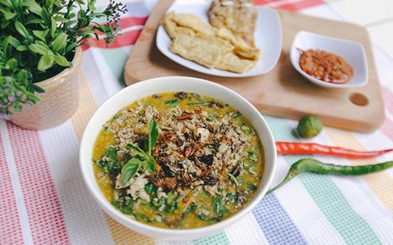 Bubur mengguh makanan khas Bali