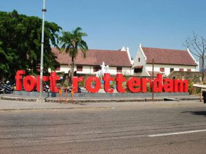 Depan Benteng Rotterdam Makassar
