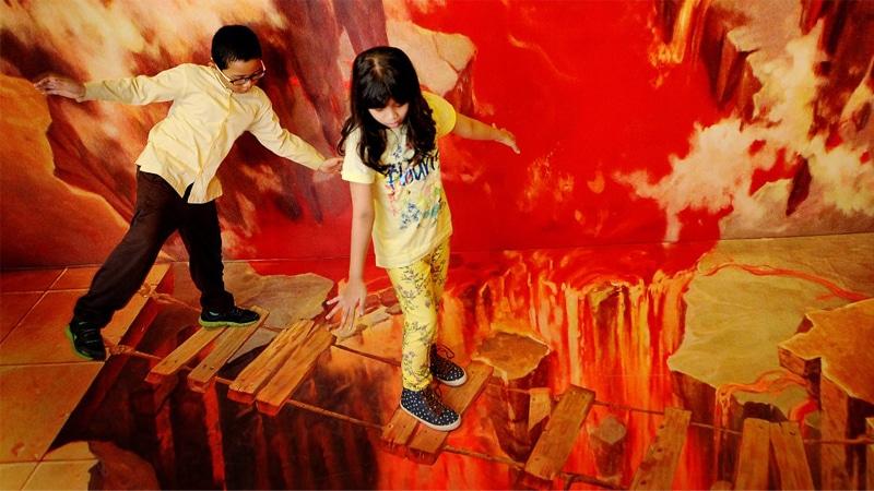 wisata di Jogja - De Mata Trick Eye Museum (glints)