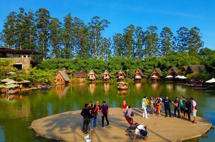 One stop holiday concept Dusun Bambu Lembang