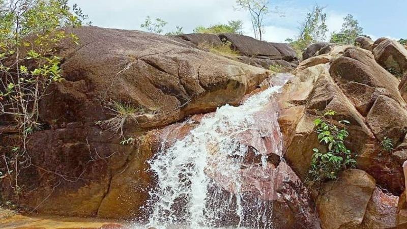 Air Terjun Pait Jaya Muntok- wisata Bangka