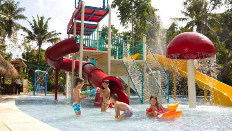 Jungle splash waterplay