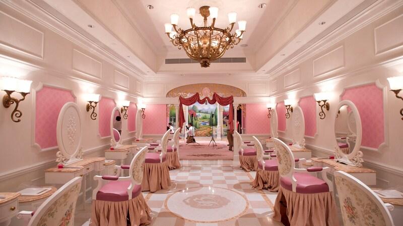 Bibbidi Bibbidi Bountique - Hong Kong Disneyland