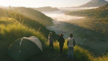 camping Bali bukit cemara