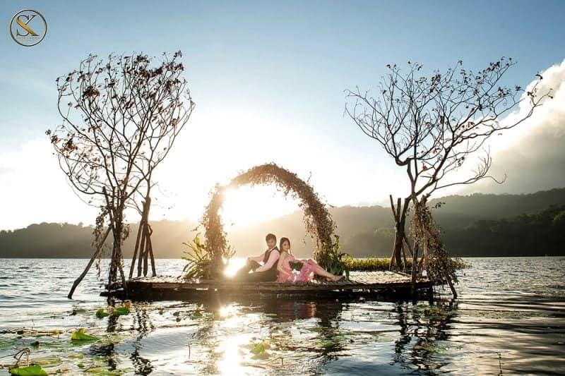 danau tamblingan camping Bali